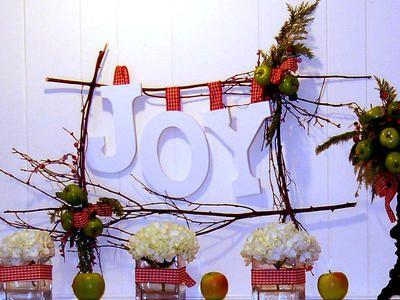 Rustic Holiday Twig Wreath