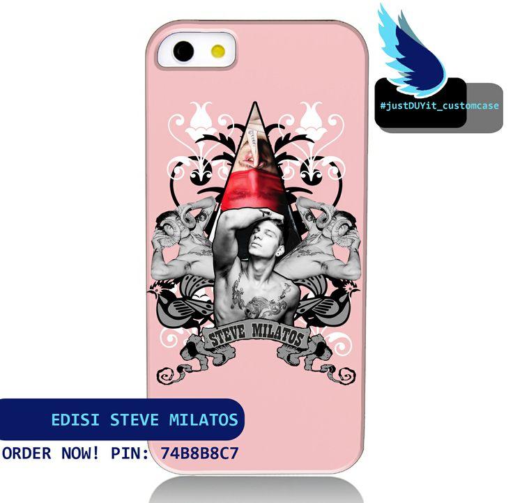 ORDER NOW Pin: 74B8B8C7 Custom Case Edisi: Steve Milatos Available For: - iPhone - Samsung - Nokia Lumia - Lenovo - HTC - dll  INFO? PING!!!