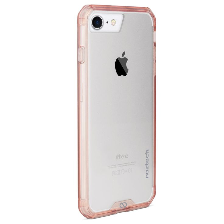 Naztech Hybrid Hard Shell Clear Back Phone Case for iPhone 6 7 8 Rose Gold  #appleiphone #samsung #iphone5 #iphone6 #iphone7 #iphone8 #samsunggalaxycase #iphoneology #galaxys8 #phonecover #smartphone #galaxy #iphone #technology #mobile #note5 #s8 #android #phonecase #samsunggalaxycover #samsungcase #apple #note8 #iphonecase #iphone8cover #samsunggalaxys8