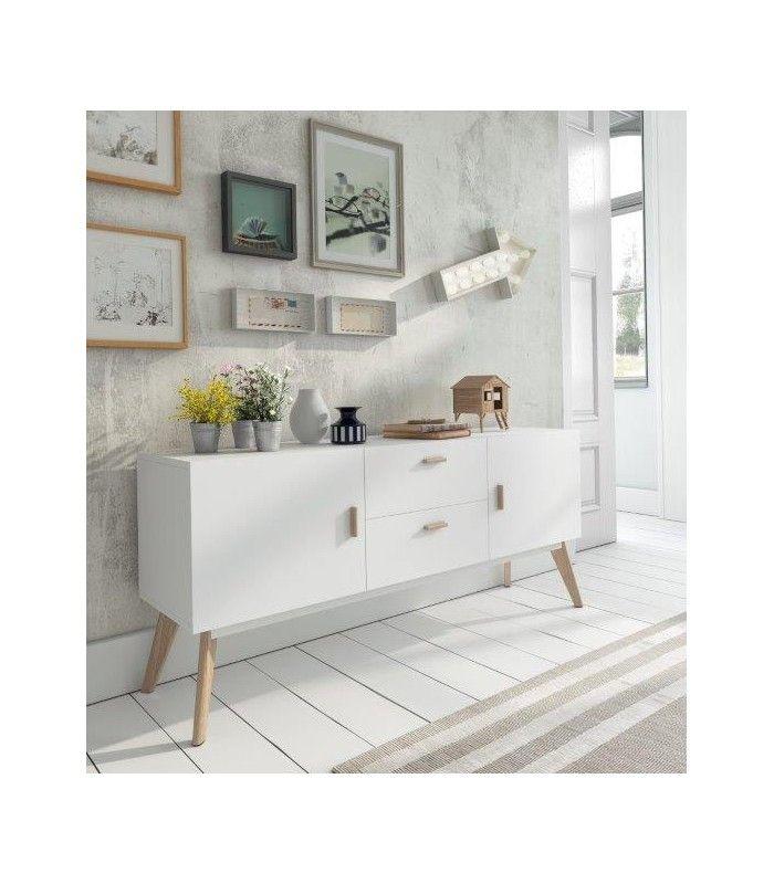 mueble auxiliar llena de estilo tu hogar aparadores de estilo nrdico modelo w