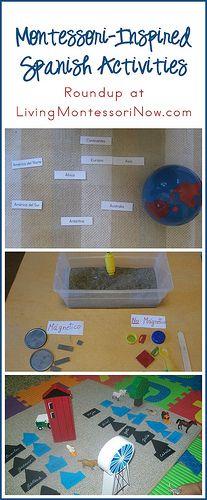 Montessori-Inspired Spanish Activities