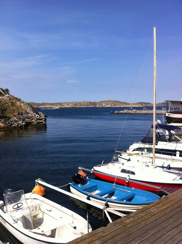 CLICK ON THE IMAGE LINK ABOVE - TO SEE ALL OF THIS AMAZING SWEDISH ISLAND TO TRAVEL http://inredningsvis.se/restips-bohuslan-skarhamn-for-livsnjutare/  #travel #sweden #bohuslän #tjörn #skärhamn #restaurang #båtar