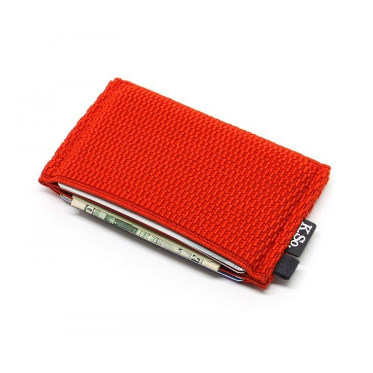 Slim Minimalist Wallet & Card Holder 'Slimz Red'