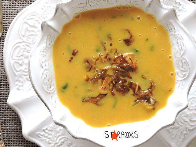 Starbooks: DAL AND PUMPKIN SOUP-zuppa di lenticchie e zucca
