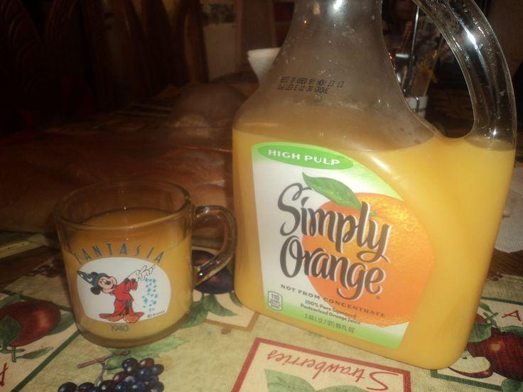 Jugo de Naranja de la marca (Simply Orange).