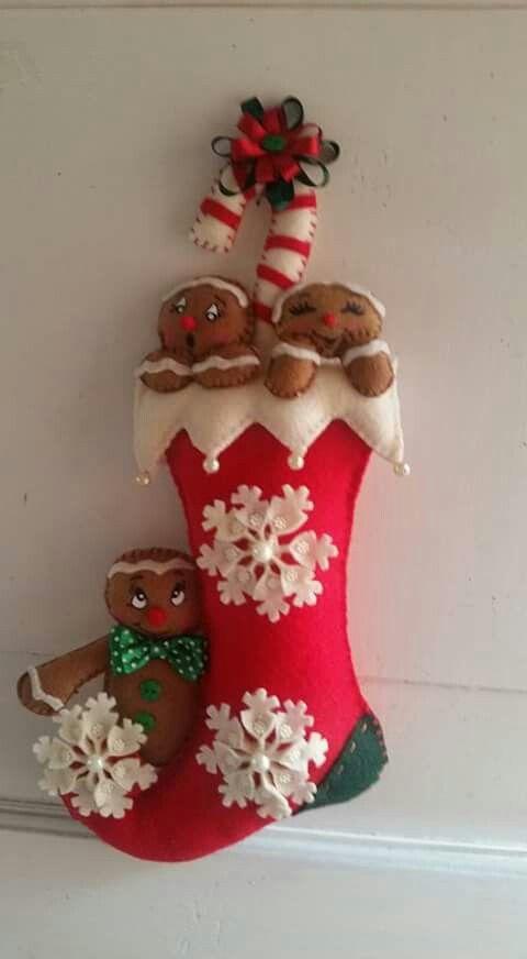 Natale in feltro e pannolenci