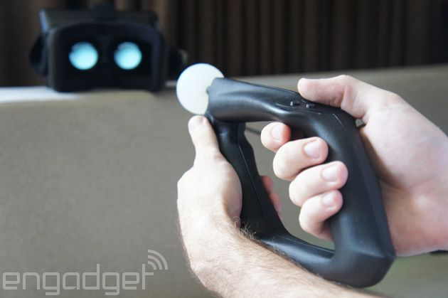 The Trinity Magnum VR controller is like a PlayStation Move for your PC