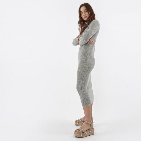 Lifa Textured Knit - Ecru Melange