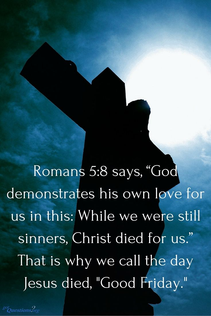 Today is #GoodFriday. What do we remember today, and why is Jesus' death so important? http://www.gotquestions.org/Good-Friday.html #Easter