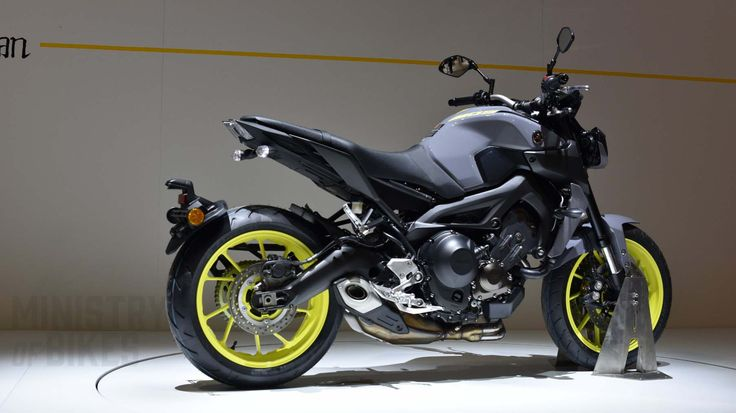 Yamaha's MT-10 SP from The Dark Side of Japan. Picture taken at Intermot by Ministry of Bikes