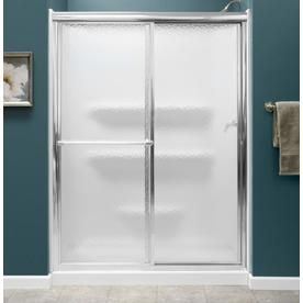 Style Selections White Acrylic Shower Base (Common: 27-In W X 54-In L; Actual: 27-In W X 54-In L) Skeb015427rdoor