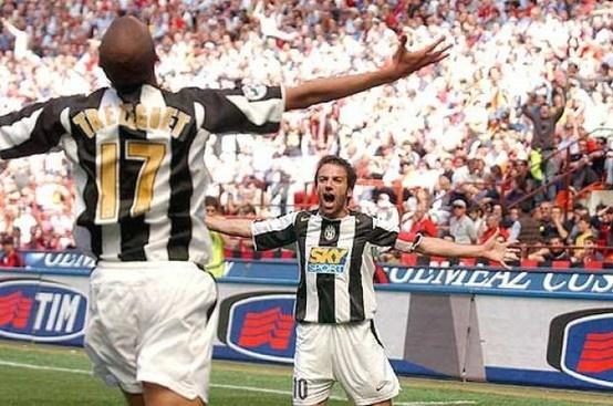 Trezeguet + Del Piero. Que esta escena no se repita en River Plate, por el amor de Dios.