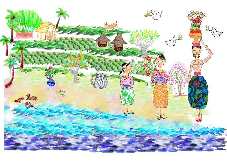 Dans la nouvelle Gazette, il y a aussi Sophie et son conte pour enfants, histoire d'offrir un joli moment aux plus petits de nos lecteurs. Ce mois-ci, Ibu Mimpi, la sorcière de Bali, transforme les enfants désobéissants en singes !  http://www.lagazettedebali.info/journal/articles/media-et-culture/ubud-208/ibu-mimpi.html?date=2015-03
