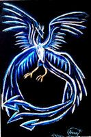 Articuno pokémon drawing with dry pastels by me. More on DA as RubyCrimson