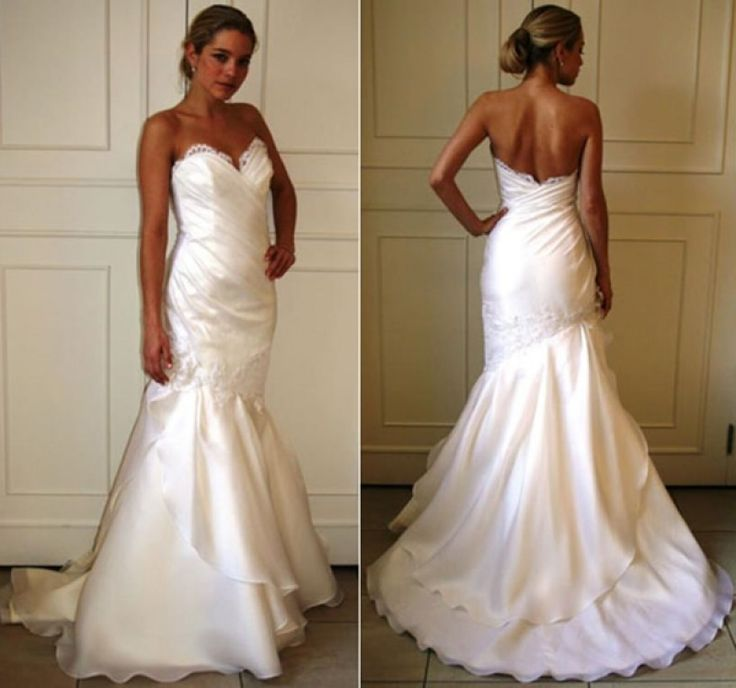 57 best Used Wedding Dresses images on Pinterest | Wedding frocks ...