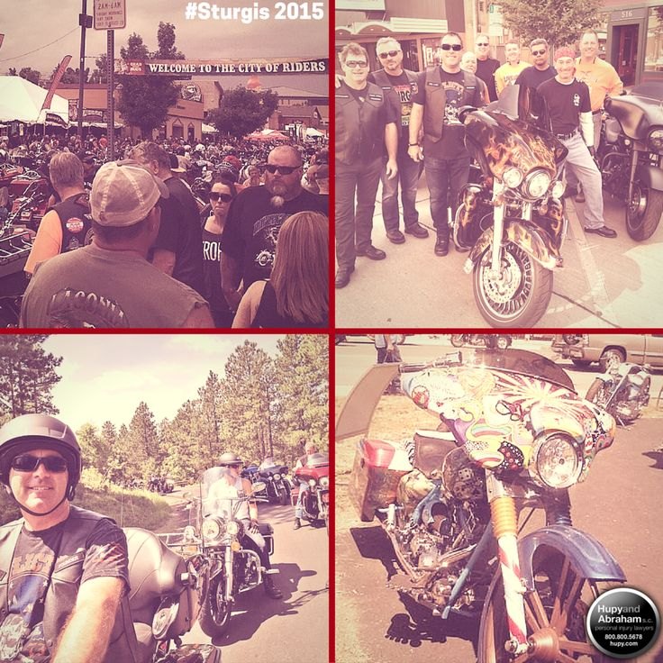 Throwback to Sturgis 2015!! Sturgis 2016 begins August 8th! Hupy and Abraham will be there, will you!?
