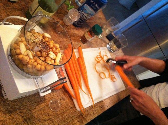 Sarah's Master Hummus