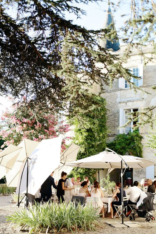 French chateau wedding venue Bordeaux