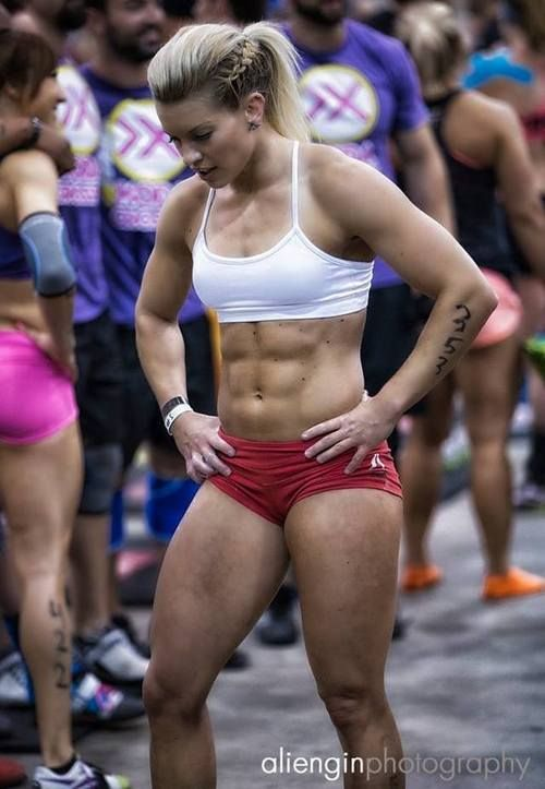 Girls Who Do Crossfit I want her body