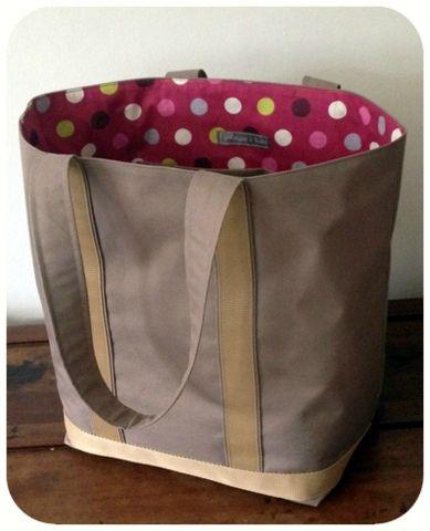 As 25 melhores ideias de tuto sac cabas no pinterest sac cabas tuto sac e pinterest diy - Tuto grand sac cabas ...