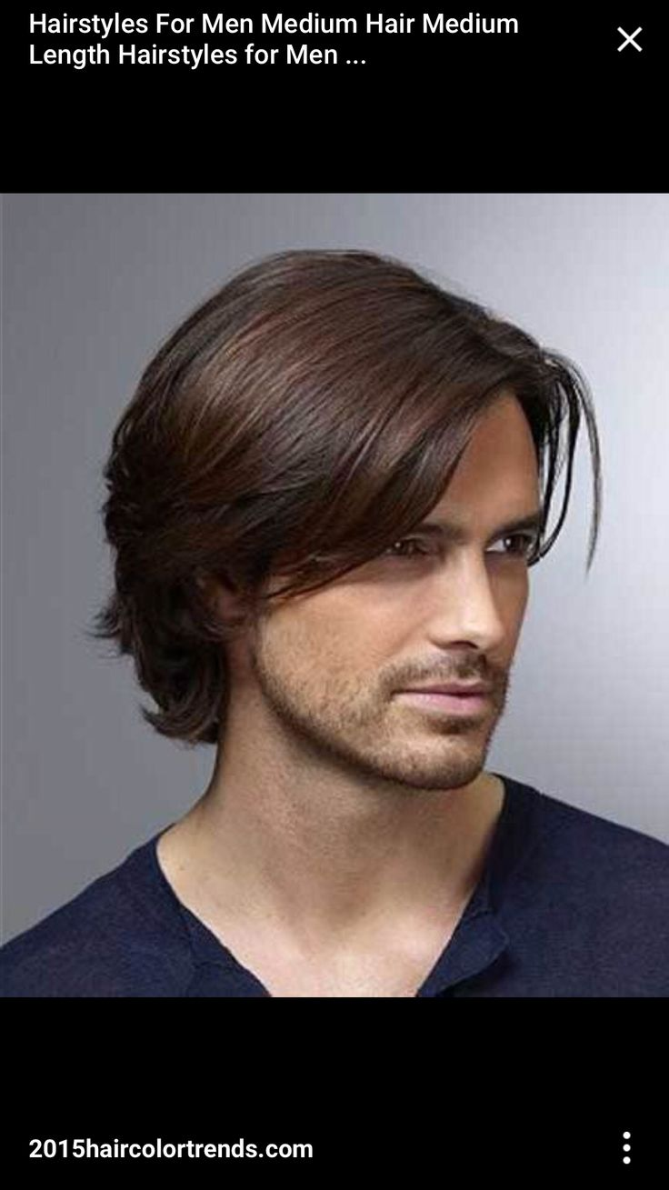 Straight perm for guys - Image For Mens Hairstyles Men Medium Hairstyle Hd 2015
