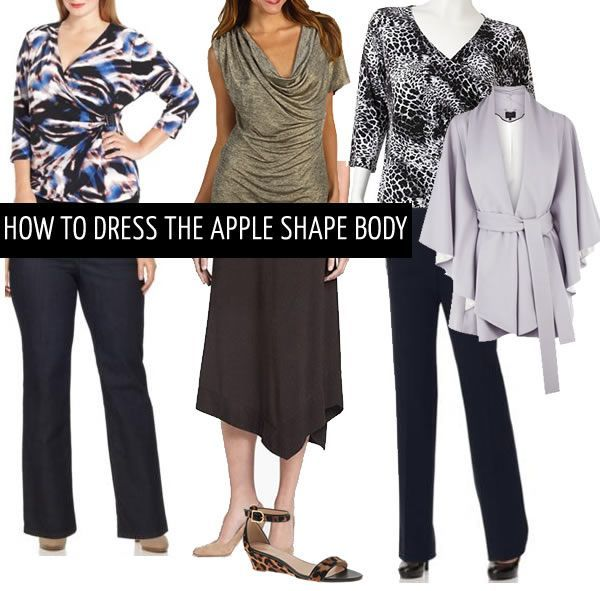 Figure Flattering Which Wedding Dress Style Suits Your: How To Dress The Apple Body Shape (40+ Style
