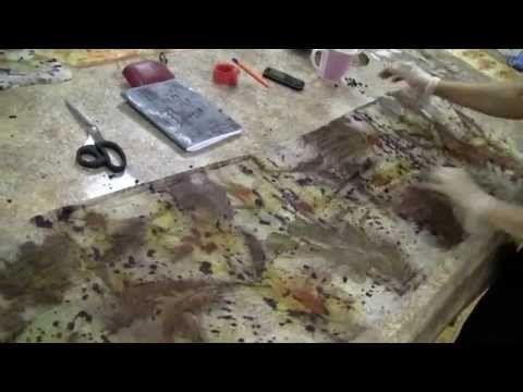 Удивительные возможности природных красителей - YouTube