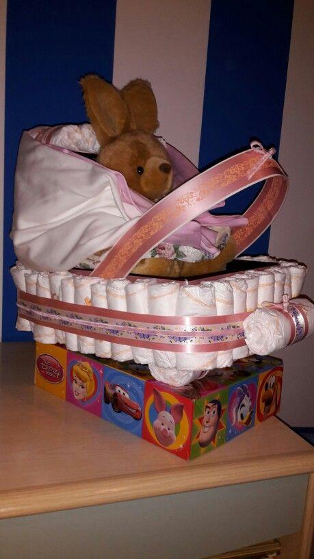 Carrozzina pannolini e prodotti per bebè