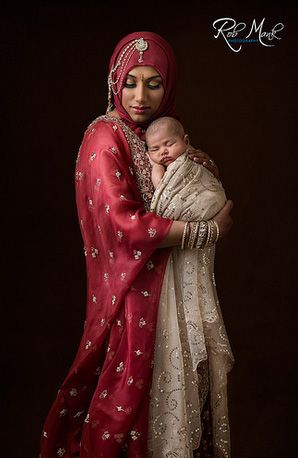 I would love to capture mommy and baby culture like this in a newborn shoot!