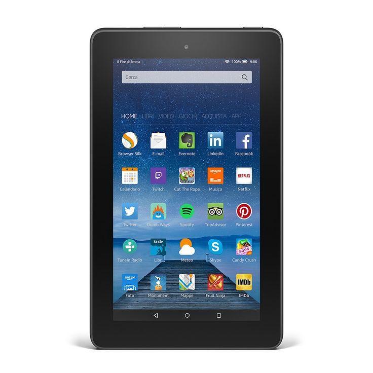 Recensione Kindle Fire 7 il tablet super-economico di Amazon