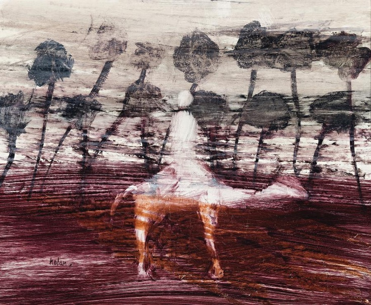 "SIDNEY NOLAN, ""EXPLORER AND CAMEL"""