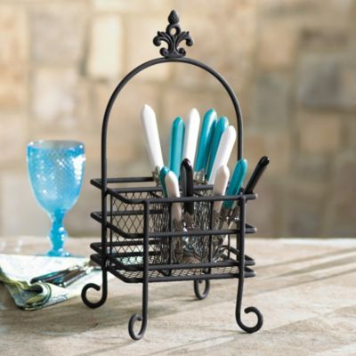 cute silverware caddy