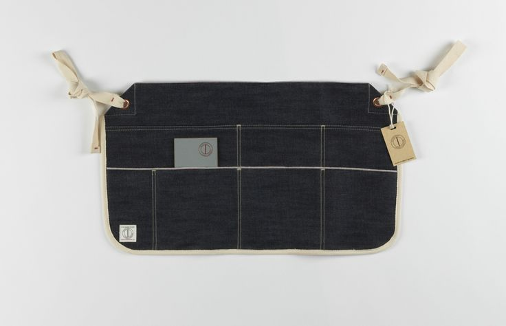 www.dawsondenim.com — The Carpenter Belt Apron, Japanese Red Line Selvage, Made in Great Britain.