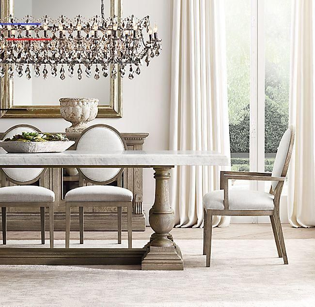 St James Marble Rectangular Dining Table Luxurydiningroom Rh S St James Marble Rec En 2020 Comedor De Lujo Diseño De La Sala De Comedor Decoracion De Interiores