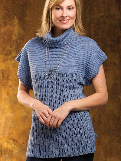 130 Best Knit Tank Tee Pullover Patterns Images On Pinterest