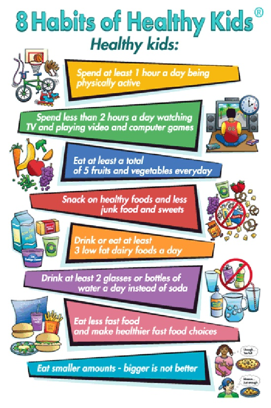 Help Kids Stay Healthy With These Habits Via