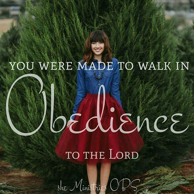 Obedience is the key to a blessed life in Christ! Let's walk in obedience to the Lord and receive His best and His highest blessings! .