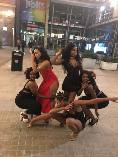 black woman, black women, and evening image