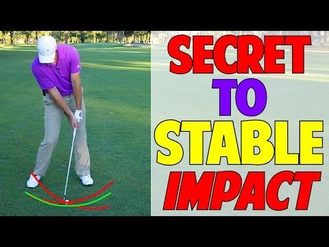 How To Be Consistent In Golf | Secret To Stable Impact - YouTube