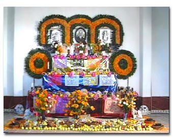 Ofrendas (or altars) are set up to remember and honor the memory of their ancestors. It is almost an art to setting up an ofrenda with a set of steps that must be followed.