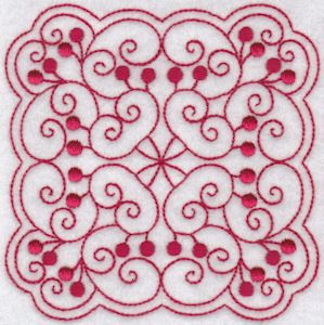 Cherries Quilt Blocks Redwork is a beautiful collection of swirly redwork block designs perfect for quilts. This designs are quick and easy to stitch with no jumps or color changes. This set comes in four sizes, for the 4x4, 5x7, 6x10 and 8x8 hoops. PCS and SEW users please note that as your machines do not support the larger hoops, the 5x7, 6x10 and 8x8 hoop sizes are not available in your format and PES has been provided instead. Wilcom EMB files are also included in the downloads for…