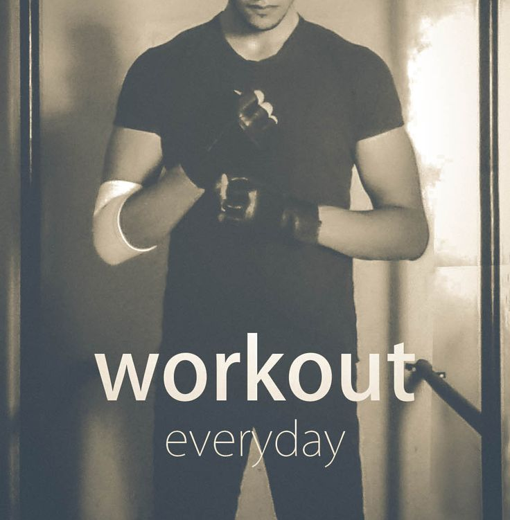 workout everyday on Behance