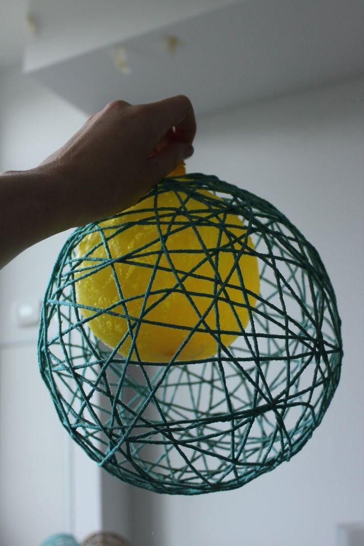 Best 25 Yarn lanterns ideas on Pinterest  String