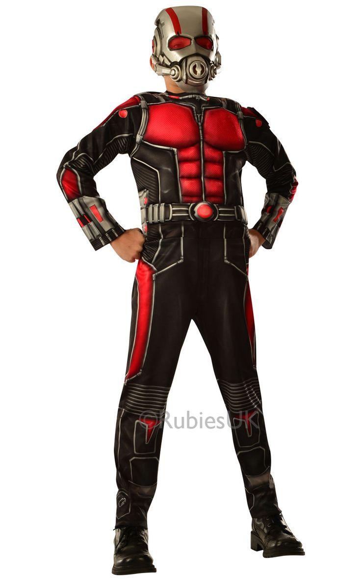 Ant-Man. Naamiaisasu on hienonnäköinen asukokonaisuus, joka varmasti on pienten sankareiden mieleen.