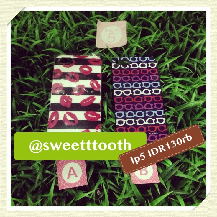 Marc Jacobs hard case for iphone 5, IDR140.000