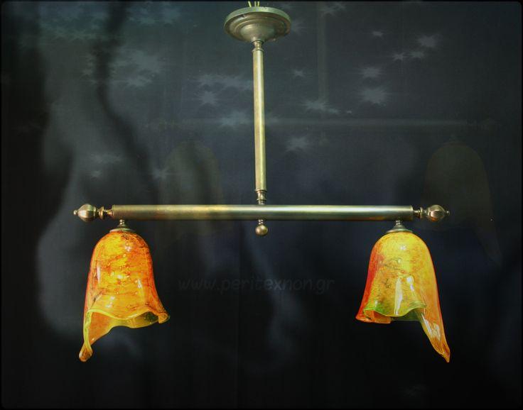 Ένα όμορφο λιτό φωτιστικό για το χώρο της τραπεζαρίας η της κουζίνας. http://peritexnon.weebly.com/