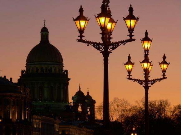 Интересное о фонарях Санкт-Петербурга.