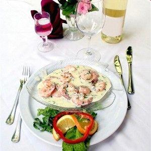 Креветки в сливочно-чесночном соусе рецепт – основные блюда. «Афиша-Еда»