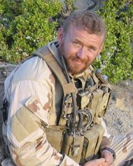 "Matthew Axelson. The 3rd Seal killed in ""Operation Red Wings"" in Afghanistan. Marcus Luttrell was the 4th Seal that lived and wrote a book about the mission called ""Lone Survivor."""