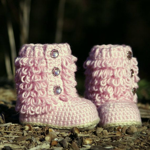 CROCHET PATTERN 201 Toddler Boot Little Diva by TwoGirlsPatterns